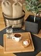 Bambum Burgas Kesme Steak Tahtası Kahve